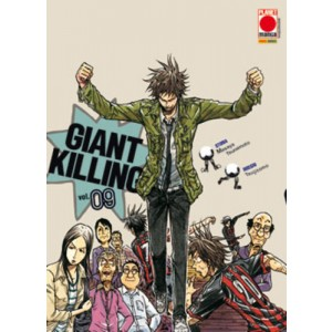 Giant Killing - N° 9 - Giant Killing - Manga Giants Planet Manga