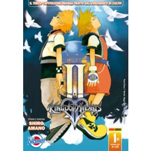 Kingdom Hearts Ii - N° 1 - Kingdom Hearts Ii - Planet Manga