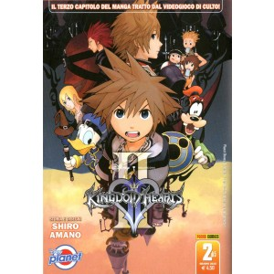 Kingdom Hearts Ii - N° 2 - Kingdom Hearts Ii - Planet Manga