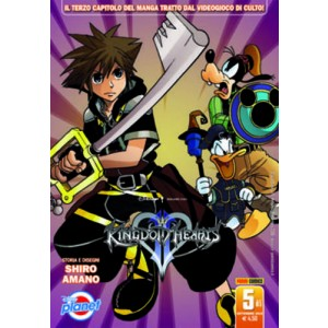 Kingdom Hearts Ii - N° 5 - Kingdom Hearts Ii - Planet Manga