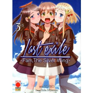Last Exile Fam The Silver Wing - N° 3 - Last Exile Fam The Silver Wing - Manga Legend Planet Manga