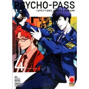 Psycho-Pass - N° 4 - Ispettore Shinya - Manga Life Planet Manga