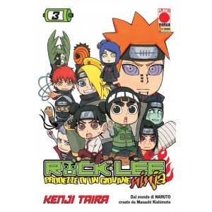 Rock Lee - N° 3 - Prodezze Di Un Giovane Ninja - Manga Rock Planet Manga