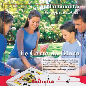Le iniziative di Intimità Intimità N° 28 + Carte da gioco