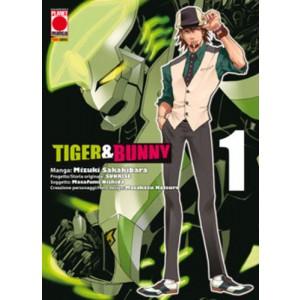 Tiger & Bunny - N° 1 - Tiger & Bunny - Manga Hero Planet Manga