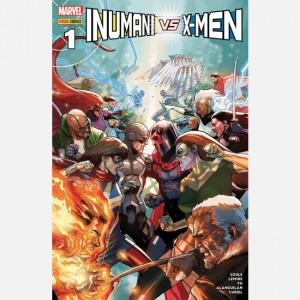 Inumani vs. X-Men Inumani vs. X-Men 1/185