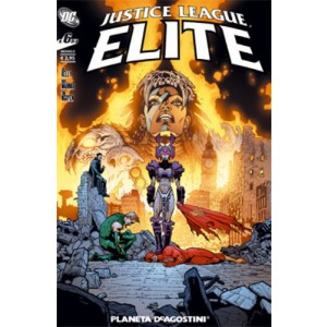 Justice League Elite (M6) - N° 6 - Justice League Elite - Planeta-De Agostini