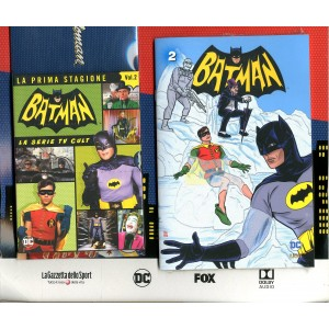 Batman '66 (Dvd + Fumetto) - N° 2 - Batman '66 - Rw Lion