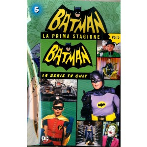 Batman '66 (Dvd + Fumetto) - N° 5 - Batman '66 - Rw Lion