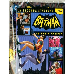 Batman '66 (Dvd + Fumetto) - N° 6 - Batman '66 - Rw Lion