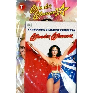 Wonder Woman '77 (Dvd+Fumetto) - N° 7 - Wonder Woman '77 - Rw Lion