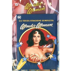 Wonder Woman '77 (Dvd+Fumetto) - N° 15 - Wonder Woman '77 - Rw Lion