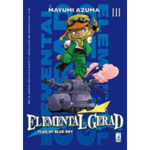 Elemental Gerad Flag Blue Sky - N° 3 - Elemental Gerad Flag Blue Sky - Zero Star Comics