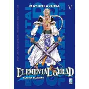 Elemental Gerad Flag Blue Sky - N° 5 - Elemental Gerad Flag Blue Sky - Zero Star Comics