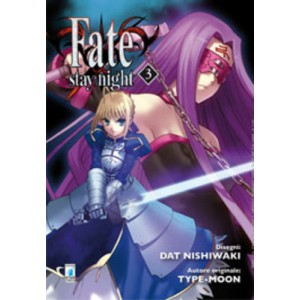 Fate Stay Night - N° 3 - Fate Stay Night - Zero Star Comics