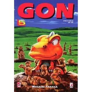 Gon - N° 5 - Gon 5 - Storie Di Kappa Star Comics