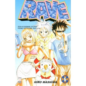 Rave - N° 6 - Rave 6 - Rave Groove Adventure Star Comics