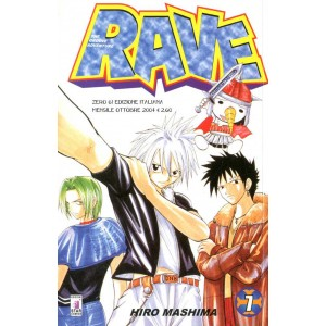 Rave - N° 7 - Rave 7 - Rave Groove Adventure Star Comics