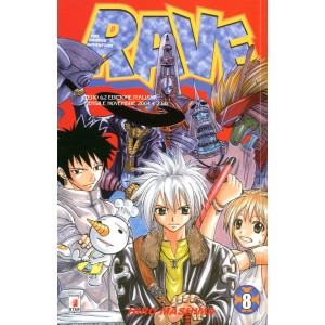 Rave - N° 8 - Rave 8 - Rave Groove Adventure Star Comics