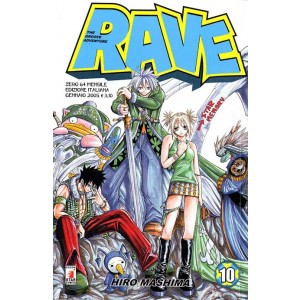 Rave - N° 10 - Rave 10 - Rave Groove Adventure Star Comics