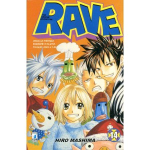 Rave - N° 14 - Rave 14 - Rave Groove Adventure Star Comics