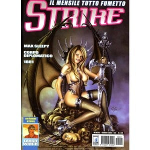 Strike - N° 4 - Max Sleepy - Corpo Diplomatico - 1881 - Star Comics