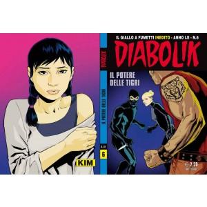 Diabolik Anno 52 - N° 6 - Il Potere Delle Tigri - Diabolik 2013 Astorina Srl