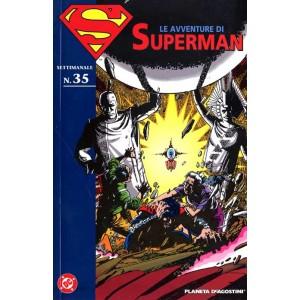 Avventure Di Superman - N° 35 - Avventure Di Superman M40 35 - Planeta-De Agostini