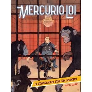 Mercurio Loi - N° 9 - La Somiglianza Con Una Scimmia - Bonelli Editore