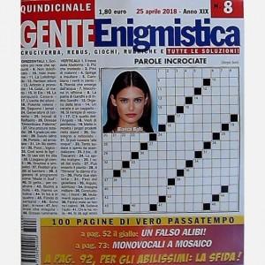 GENTE Enigmistica Uscita N° 08 del 2018 (Anno XIX)