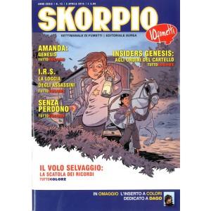 Skorpio Anno 39 - N° 13 - Skorpio 2015 13 - Skorpio Editoriale Aurea
