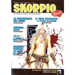 Skorpio Anno 39 - N° 14 - Skorpio 2015 14 - Skorpio Editoriale Aurea