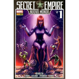 Marvel Crossover - N° 96 - Rivolta - Secret Empire: Nuovo Mondo Marvel Italia