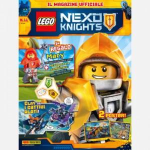 Lego Nexo Knights Lego Nexo Knights N° 11 + figurine ufficiale Lego® di Macy