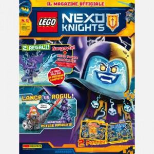 Lego Nexo Knights Lego Nexo Knights N° 9 +  figurina Lego® ufficiale