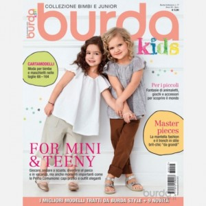 Burda Collezione Baby For Mini e Teeny (Edizione 2018)