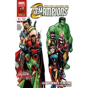 Champions - N° 12 - Marvel Legacy Avengers - Marvel Italia