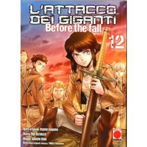 Attacco Dei Giganti Before The Fall - N° 12 - Attacco Dei Giganti Before The Fall - Manga Shock Planet Manga