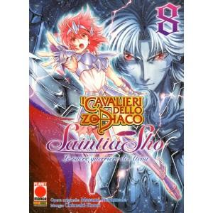 Cavalieri Zodiaco Saintia Sho - N° 8 - Le Sacre Guerriere Di Atena - Manga Legend Planet Manga