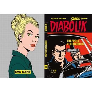 Diabolik Swiisss - N° 256 - Trappola Per Diabolik - Astorina Srl
