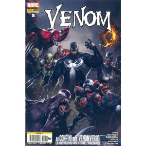 Venom Nuova Serie - N° 5 - Venom - Marvel Italia