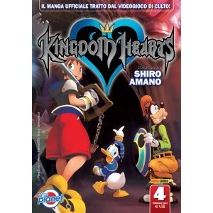 Kingdom Hearts - N° 4 - Kingdom Hearts - Planet Manga