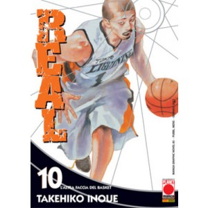 Real - N° 10 - Real - Manga Graphic Novel Planet Manga