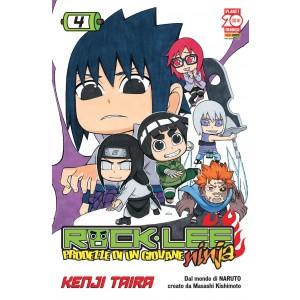 Rock Lee - N° 4 - Prodezze Di Un Giovane Ninja - Manga Rock Planet Manga