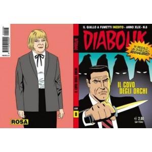 Diabolik Anno 49 - N° 8 - Il Covo Degli Orchi - Diabolik 2010 Astorina Srl
