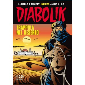 Diabolik Anno 50 - N° 7 - Trappola Nel Deserto - Diabolik 2011 Astorina Srl