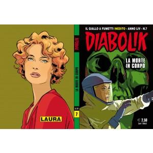 Diabolik Anno 54 - N° 7 - La Morte In Corpo - Diabolik 2015 Astorina Srl