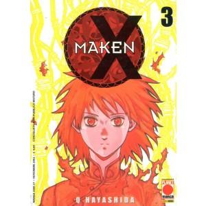 Maken X - N° 3 - Maken 3 - Manga 2000 Planet Manga