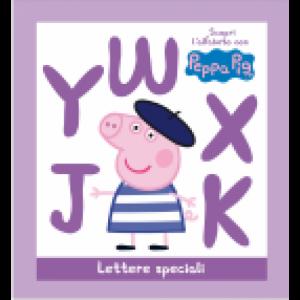 Scopri l'alfabeto con Peppa Pig Lettere Speciali Jwky