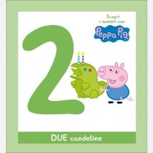 Scopri l'alfabeto con Peppa Pig DUE candeline